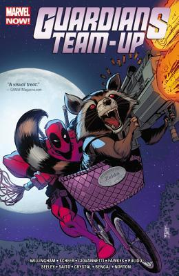 Guardians Team-Up Vol. 2: Unlikely Story by Paul Scheer, Mike Norton, Nick Giovannetti, Bill Willingham, Javier Pulido, Tim Seeley, Diogo Saido, Shawn Crystal