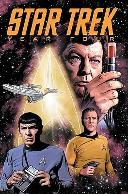Star Trek: Year Four by Rob Sharp, Leonard O'Grady, Steve Conley, Gordon Purcell, David Tischman, Joe Sharp
