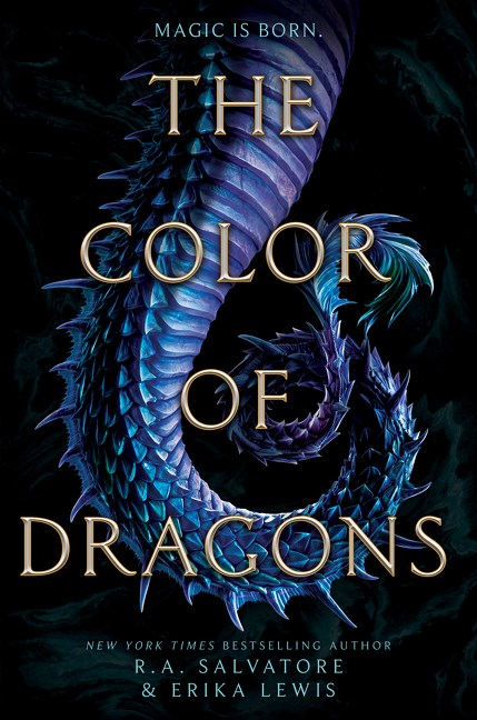 The Color of Dragons by R. A. Salvatore, Erika Lewis