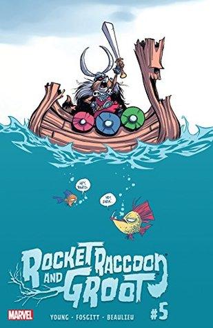 Rocket Raccoon and Groot #5 by Jay P. Fosgitt, Skottie Young