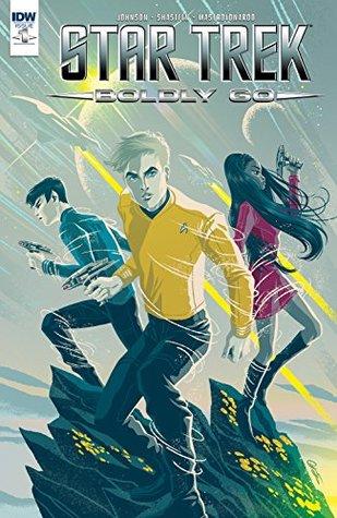 Star Trek: Boldly Go #1 by George Caltsoldas, Tony Shasteen, Mike Johnson