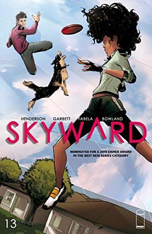 Skyward #13 by Joe Henderson, Antonio Fabela, Lee Garbett