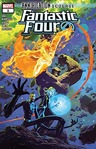 Annihilation: Scourge - Fantastic Four #1 by Christos Gage, Diego Olortegui, Josemaria Casanovas