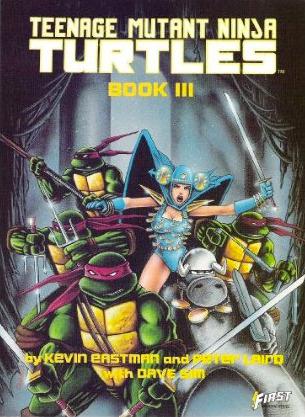 Teenage Mutant Ninja Turtles, Book III by Kevin Eastman, Peter Laird, Dave Sim
