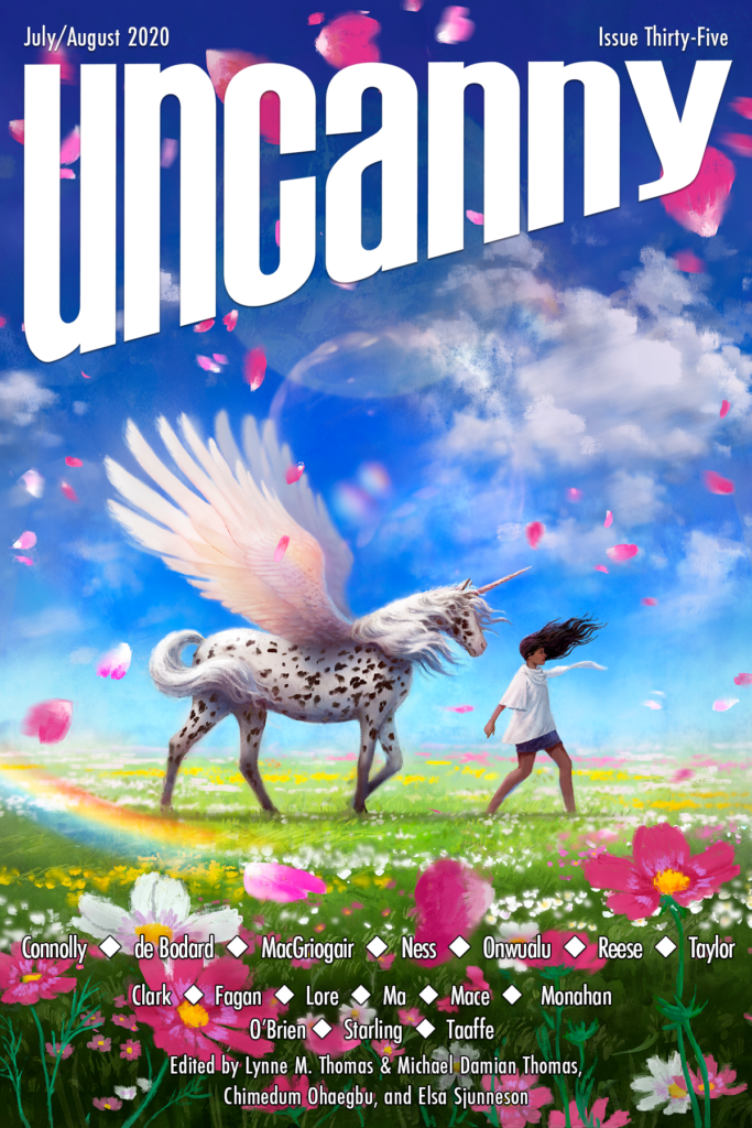 Uncanny Magazine Issue 35: July/August 2020 by Chimedum Ohaegbu, Elsa Sjunneson, Michael Damian Thomas, Lynne M. Thomas