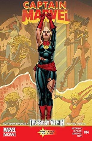Captain Marvel (2012-2013) #14 by Gerardo Sandoval, Andy Troy, Scott Hepburn, Kelly Sue DeConnick, Joe Quiñones