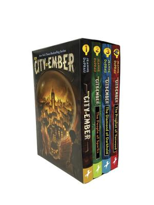 The City of Ember Complete Boxed Set: The City of Ember; The People of Sparks; The Diamond of Darkhold; The Prophet of Yonwood by Jeanne DuPrau