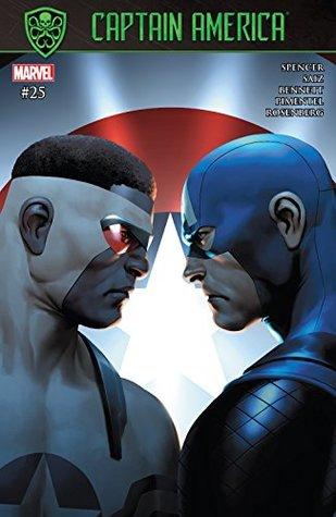 Captain America #25 by Nick Spencer, Jesus Saiz
