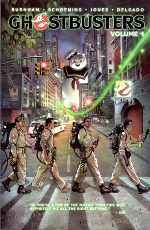 Ghostbusters, Volume 1: The Man From The Mirror by Erik Burnham, Dan Schoening