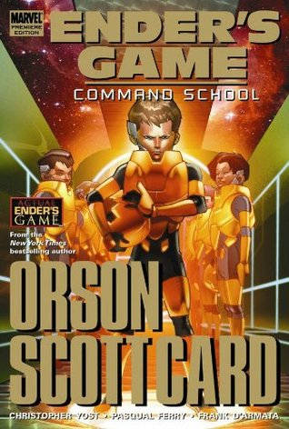 Ender's Game, Volume 2: Command School by Pasqual Ferry, Christopher Yost, Orson Scott Card