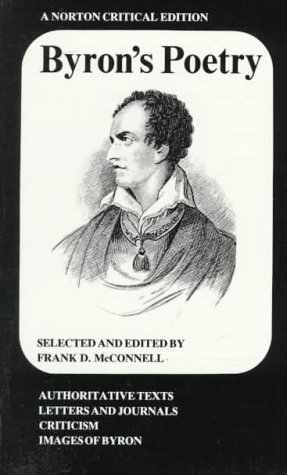 Byron's Poetry by Frank McConnell, Lord Byron