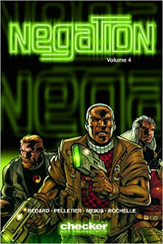 Negation, Volume 4: Shock & Awe by Paul Pelletier, Tony Bedard
