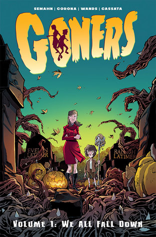 Goners, Vol. 1: We All Fall Down by Jacob Semahn, Jorge Corona