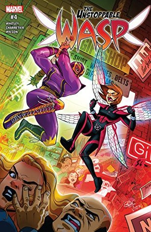 The Unstoppable Wasp #4 by Jeremy Whitley, Elsa Charretier