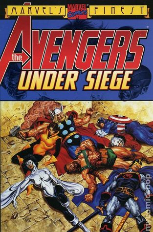 Avengers: Under Siege by Roger Stern, John Buscema, Tom Palmer Sr.
