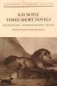 Three Short Novels by Kay Boyle