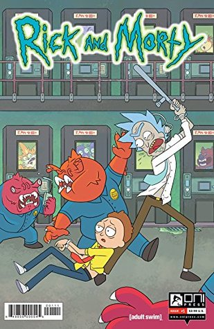 Rick and Morty #1 by Zac Gorman, C.J. Cannon