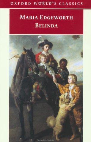 Belinda by Maria Edgeworth, Kathryn J. Kirkpatrick