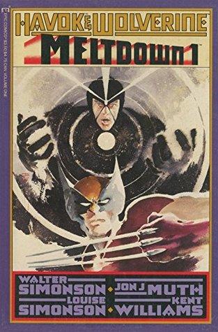 Havok and Wolverine: Meltdown #1 by Walter Simonson, Jon Muth, Louise Simonson, Kent Williams