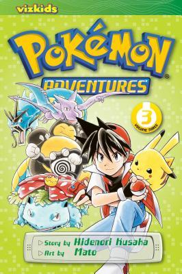 Pokémon Adventures (Red and Blue), Vol. 3 by Hidenori Kusaka