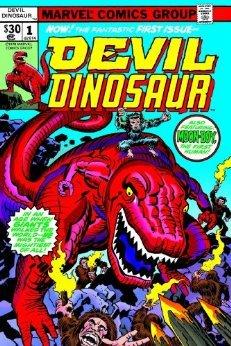 Devil Dinosaur Omnibus by Mike Royer, Frank Giacoia, Walter Simonson, Tom Brevoort, Jack Kirby