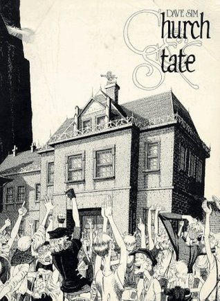 Church and State I by Dave Sim