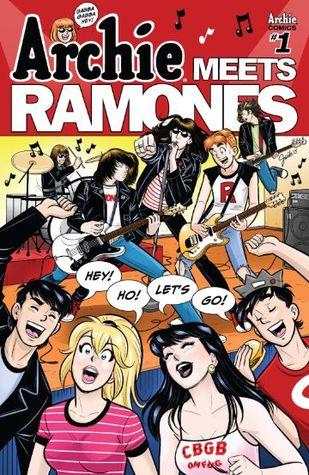 Archie Meets Ramones #1 by Matthew Rosenberg, Gisèle Lagacé, Shouri, Alex Segura