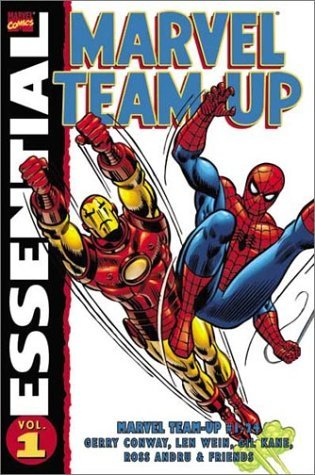 Essential Marvel Team-Up, Vol. 1 by Gil Kane, Gerry Conway, Len Wein, Jim Mooney, Ross Andru, Roy Thomas, Sal Buscema