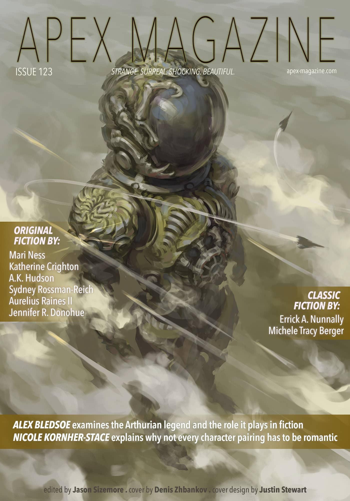 Apex Magazine Issue 123 by Jason Sizemore