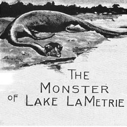 The Monster of Lake LaMetrie by Wardon Allan Curtis