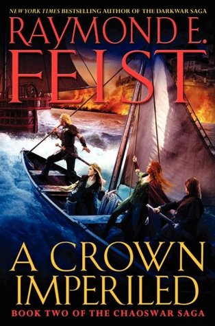 A Crown Imperiled by Raymond E. Feist