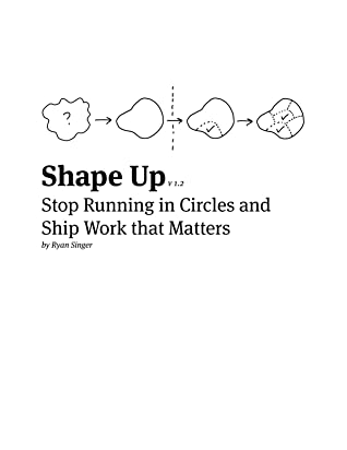 Shape Up: Stop Running in Circles and Ship Work that Matters by Jason Fried, Ryan Singer