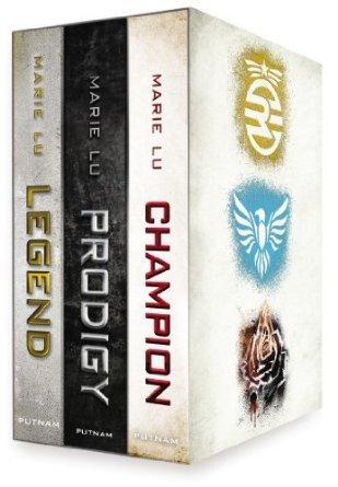 Legend Trilogy Boxed Set by Marie Lu