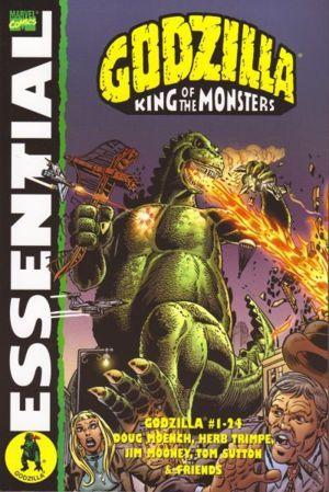 Essential Godzilla, Vol. 1 by Doug Moench, Doug Mahnke, Tom Sutton, Jim Mooney, Herb Trimpe