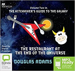 The Restaurant at the End of the Universe: 2 by Douglas Adams
