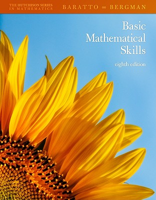 Basic Mathematical Skills with Geometry by Don Hutchison, Barry Bergman, Stefan Baratto