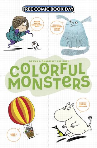 Colorful Monsters by Elise Gravel, Tove Jansson, Anouk Ricard, Shigeru Mizuki