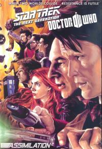 Star Trek: The Next Generation/Doctor Who: Assimilation2: The Complete Series by Sharp Bros, J.K. Woodward, Gordon Purcell, Scott Tipton, Tony Lee, David Tipton