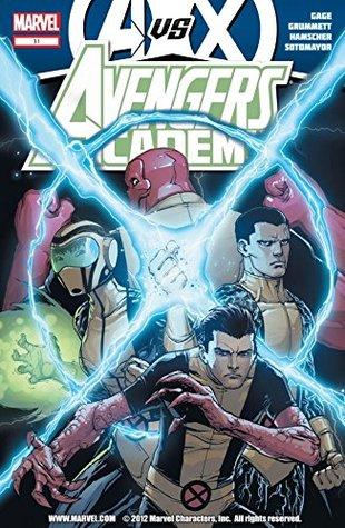 Avengers Academy #31 by Bill Rosemann, Chris Sotomayor, Christos Gage, Cory Hamscher, Joe Caramagna, Tom Grummett