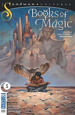 Books of Magic (2018-) #5 by Jordan Boyd, Tom Fowler, Kat Howard, Kai Carpenter
