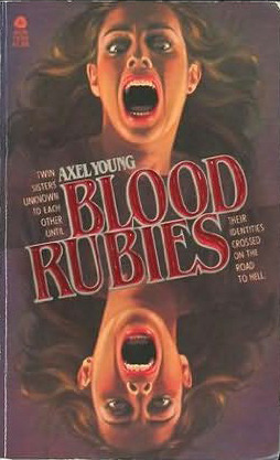 Blood Rubies by Michael McDowell, Axel Young