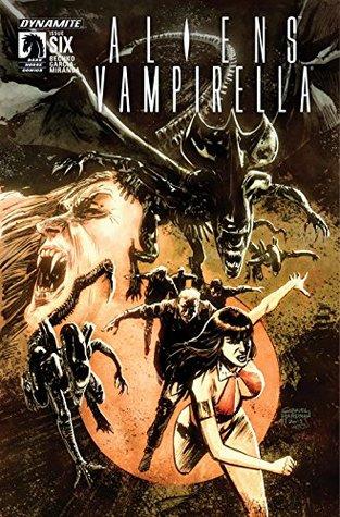 Aliens/Vampirella #6: Digital Exclusive Edition by Javier Garcia-Miranda, Corinna Sara Bechko
