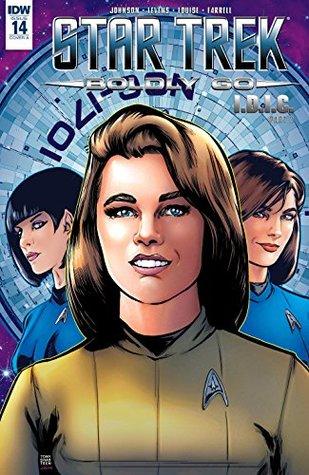 Star Trek: Boldly Go #14 by Megan Levens, Mike Johnson