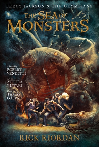 The Sea of Monsters: The Graphic Novel by Robert Venditti, Rick Riordan