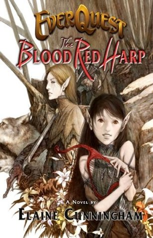 EverQuest: Blood Red Harp by Elaine Cunningham