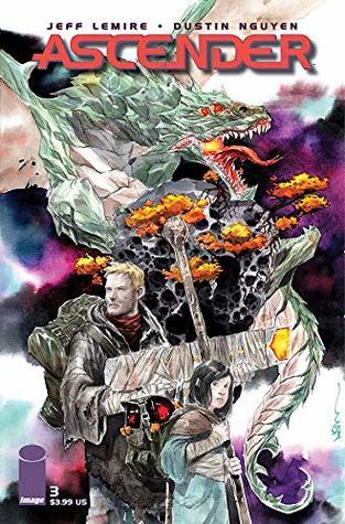 Ascender #3 by Dustin Nguyen, Jeff Lemire