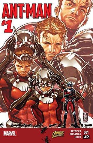 Ant-Man #1 by Nick Spencer, Ramon Rosanas, Mark Brooks