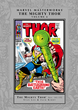 Marvel Masterworks: The Mighty Thor, Vol. 6 by Mark Evanier, Vince Colletta, Stan Lee, Jack Kirby