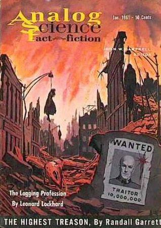 Analog Science Fiction and Fact, 1961 January by Mark Phillips, Laurence M. Janifer, Randall Garrett, John Berryman, Theodore L. Thomas, John W. Campbell Jr., G. Harry Stine, Leonard Lockhard, Tom Purdom, Walter Bupp