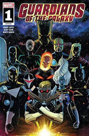 Guardians of the Galaxy (2019) #1 by David Marquez, Geoff Shaw, Donny Cates